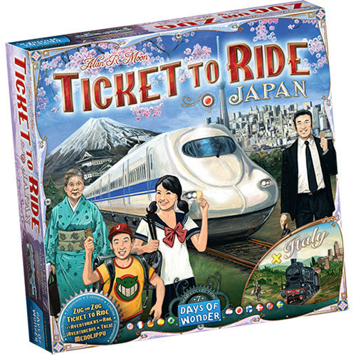 Ticket To Ride Volume 7: Japan & Italy-LVLUP GAMES