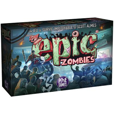 Tiny Epic Zombies-LVLUP GAMES