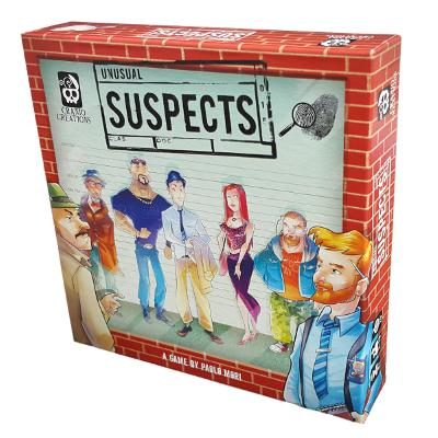 Unusual Suspects (Red Box)-LVLUP GAMES