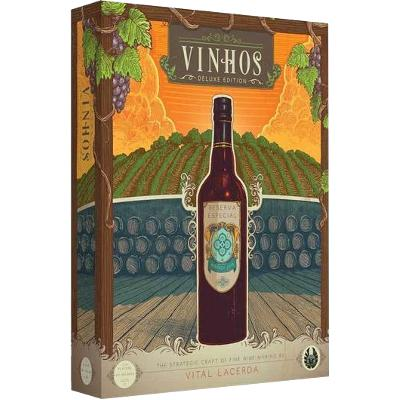 Vinhos Deluxe (2017 Edition)-LVLUP GAMES