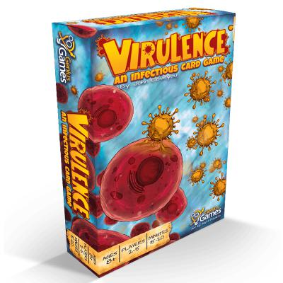 Virulence: An Infectious Card Game-LVLUP GAMES