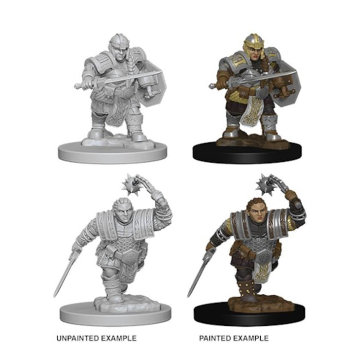 D&D Nolzur's Marvelous Miniatures:  Dwarf Female Fighter -LVLUP GAMES