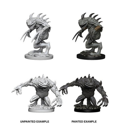 D&D Nolzur's Marvelous Miniatures:  Grey Slaad & Death Slaad-LVLUP GAMES