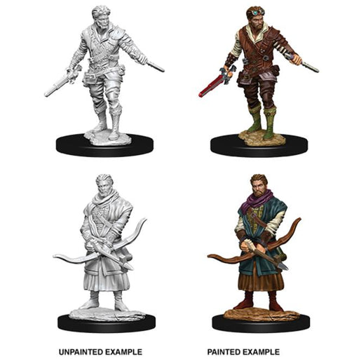 D&D Nolzur's Marvelous Miniatures:  Human Male Rogue-LVLUP GAMES