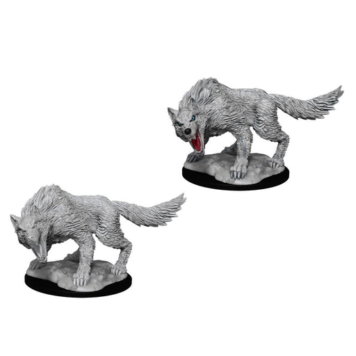 D&D Nolzur's Marvelous Miniatures:  Winter Wolf -LVLUP GAMES
