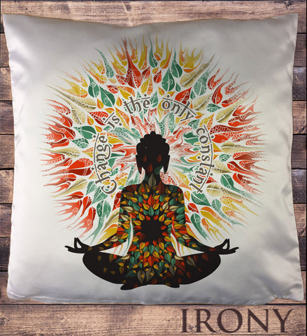 Yoga Chakra Meditation Peace Spirit India Om Cushion Cover CUS569