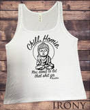 Jersey Top 'Chill, Homie. You need to let that sh*t go' Buddha Funny JTK1117