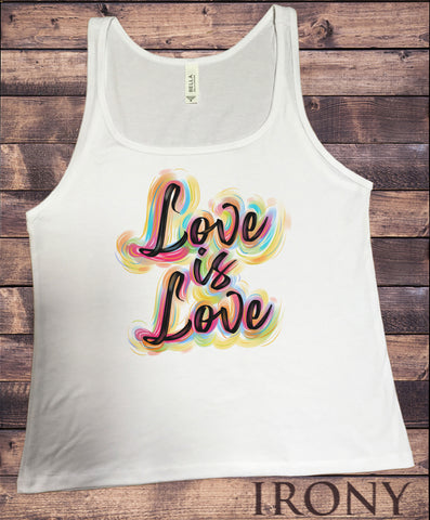 Jersey Top Love is love Pride Feelings Print JTK1883