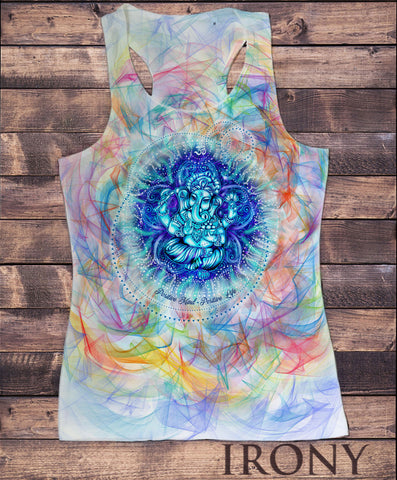 Women's Vest Top, Ganesh God Hindu Spiritual Zen India Sublimation Print SUB1201
