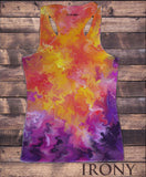 Womens Vest Top, Eye Sun Space Stars Casual Print SUB1467