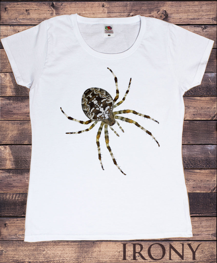 Women's Tee Creepy Crawler - Insect Scary Spider Spooky Print TS1247