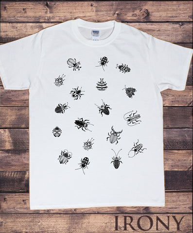Men's Tee Scary Spiders- CREEPY Crawlers-Spiders All Over Print TS1383