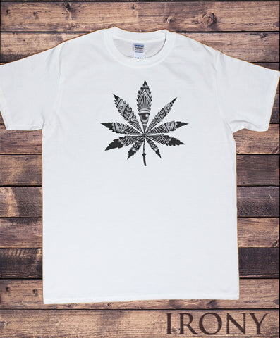Men's T-Shirt Dope Chef Cannabis 420 Wiz Khalifa illuminati Marijuana Print TS1827