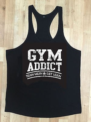 Irony Other Men's Clothing MMA Gym Bodybuilding Motivation Vest Best Workout Clothing Training Top