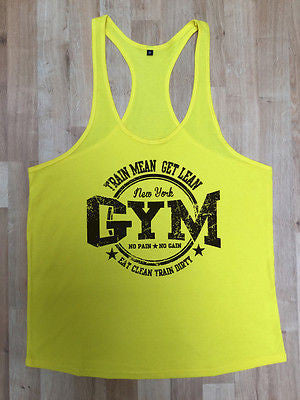dffe0674 Irony Other Men's Clothing MMA Gym Bodybuilding Motivation Vest Best Workout  Clothing Training Top New York