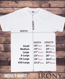 Irony T-shirt Men's White T-Shirt Radio Design, Geek Design Funny Slogan TS311