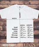 Irony T-shirt Mens White T-shirt Vintage Look Ride My Bicycle Novelty Print