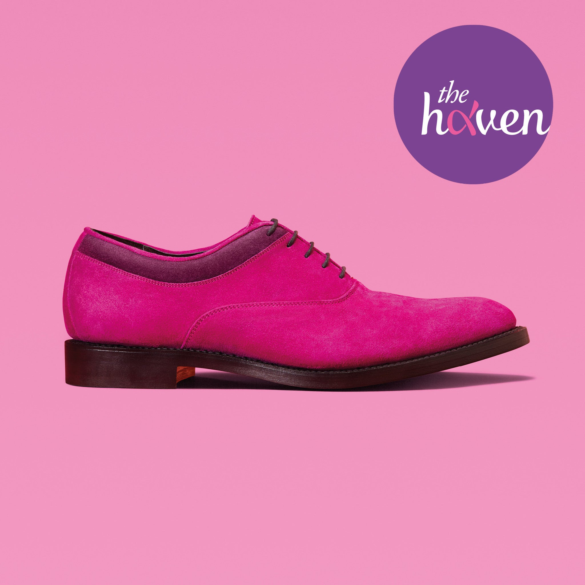 MAGNUS FOR WOMEN | Fuchsia Suede Oxford Shoes