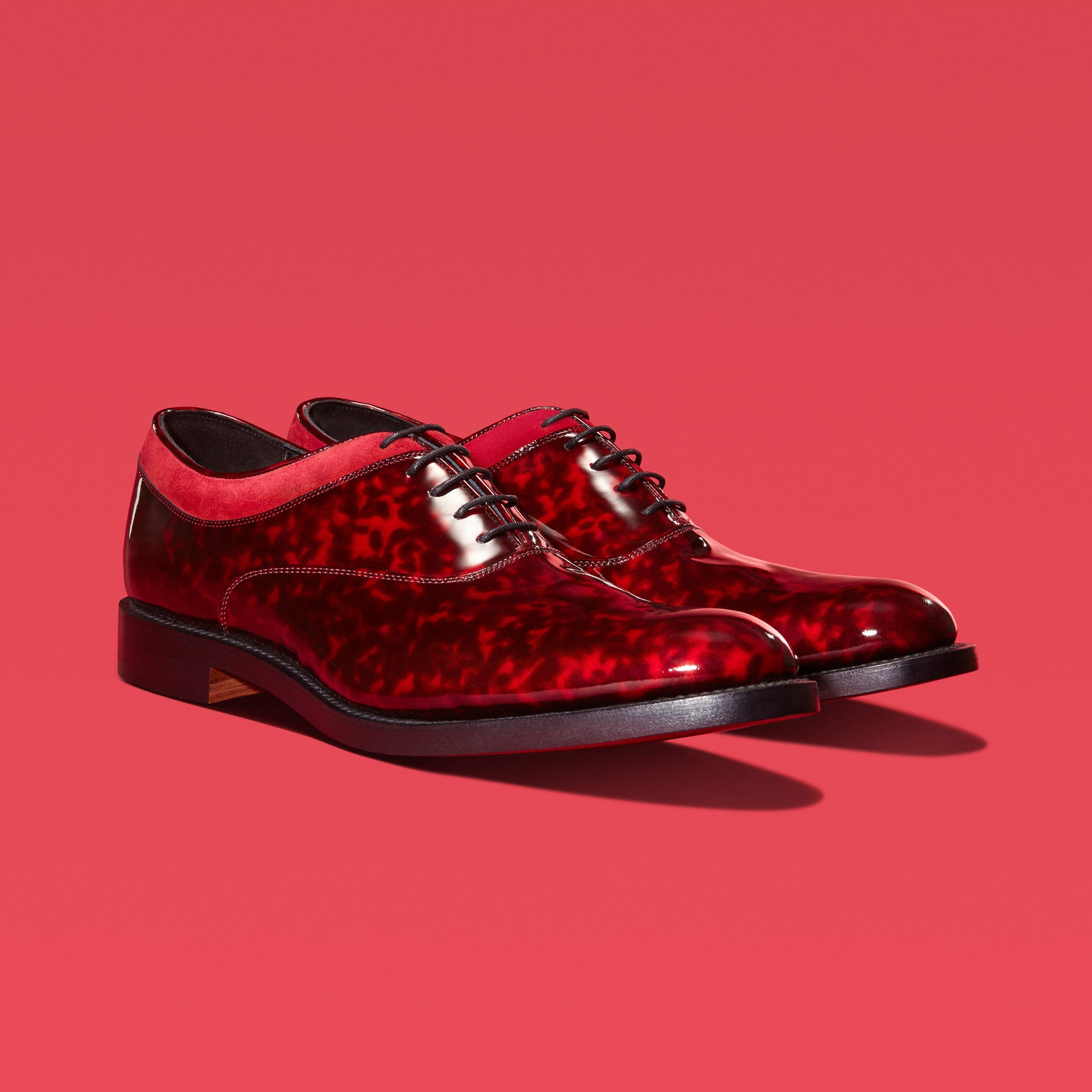 MAGNUS | Red Patent Oxford Shoes