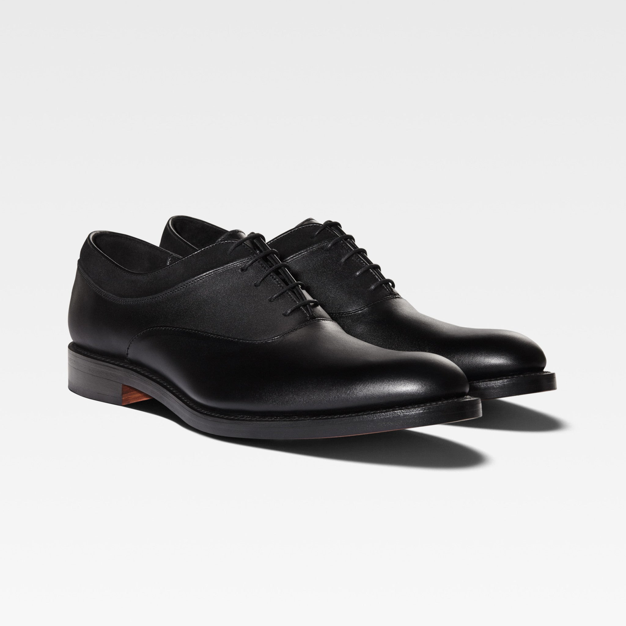 MAGNUS | Black Leather Oxford Shoes