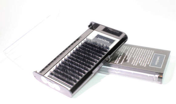 Russian Volume Single Tray Lashes - 0.10 Thickness