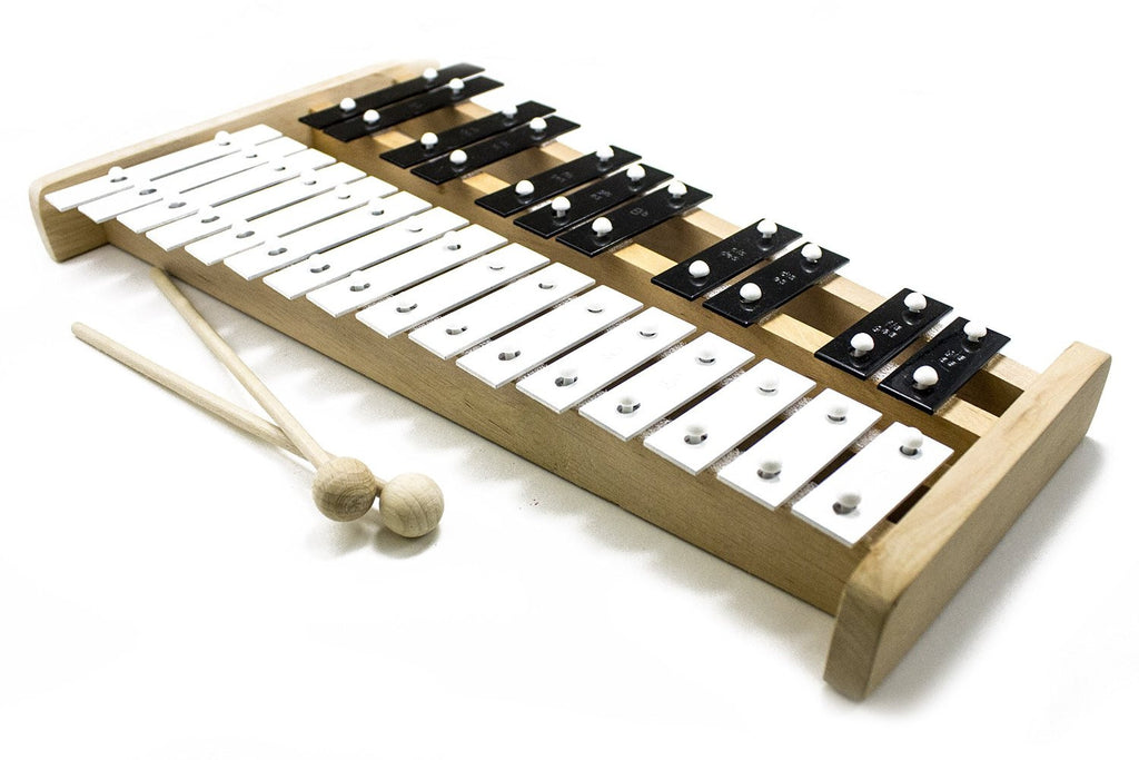 Professional Wooden Soprano Glockenspiel Xylophone with 27 Keys and 2 – The Xylophone Shop
