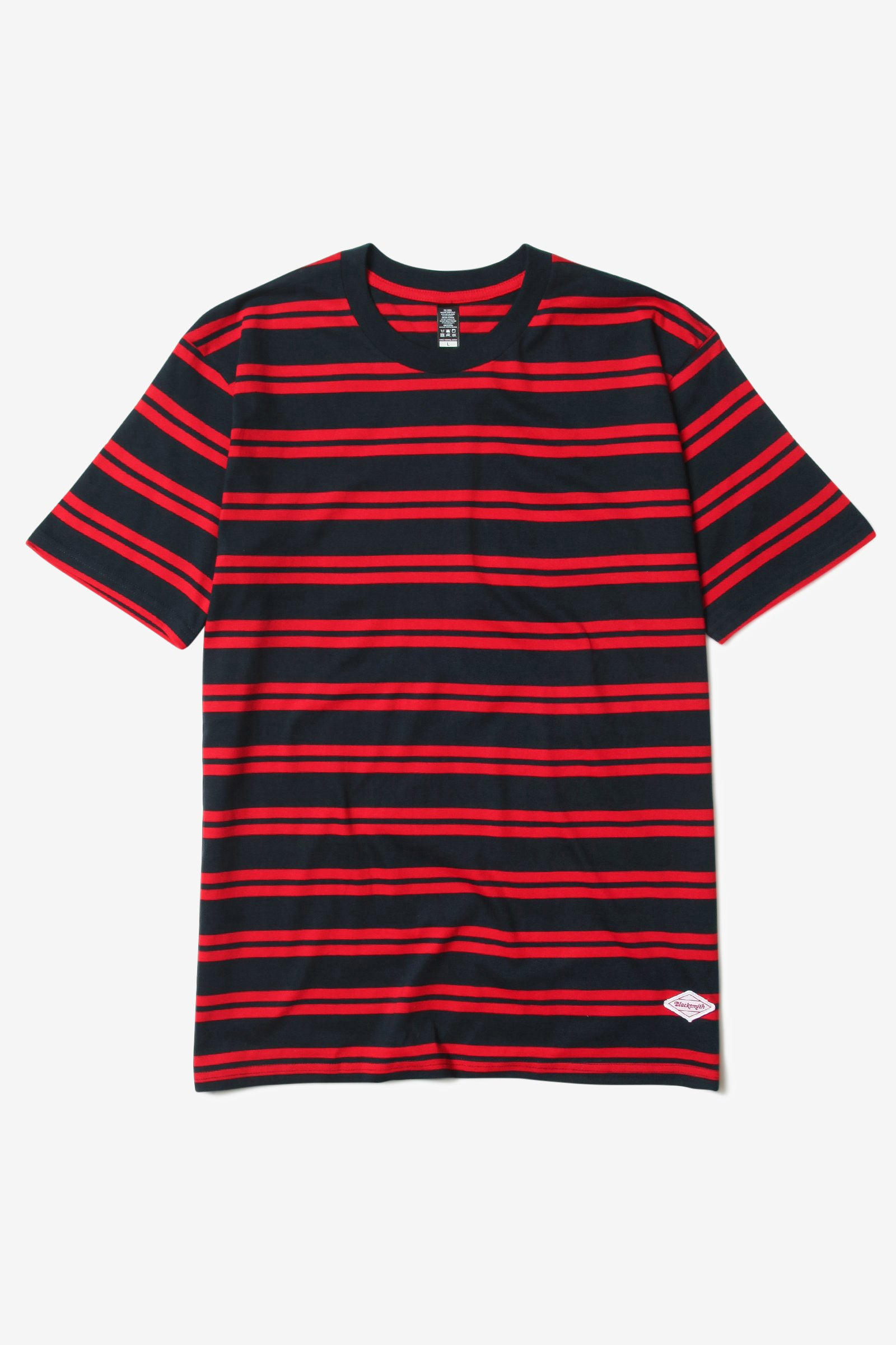 Blacksmith - Border Striped Tee - Navy