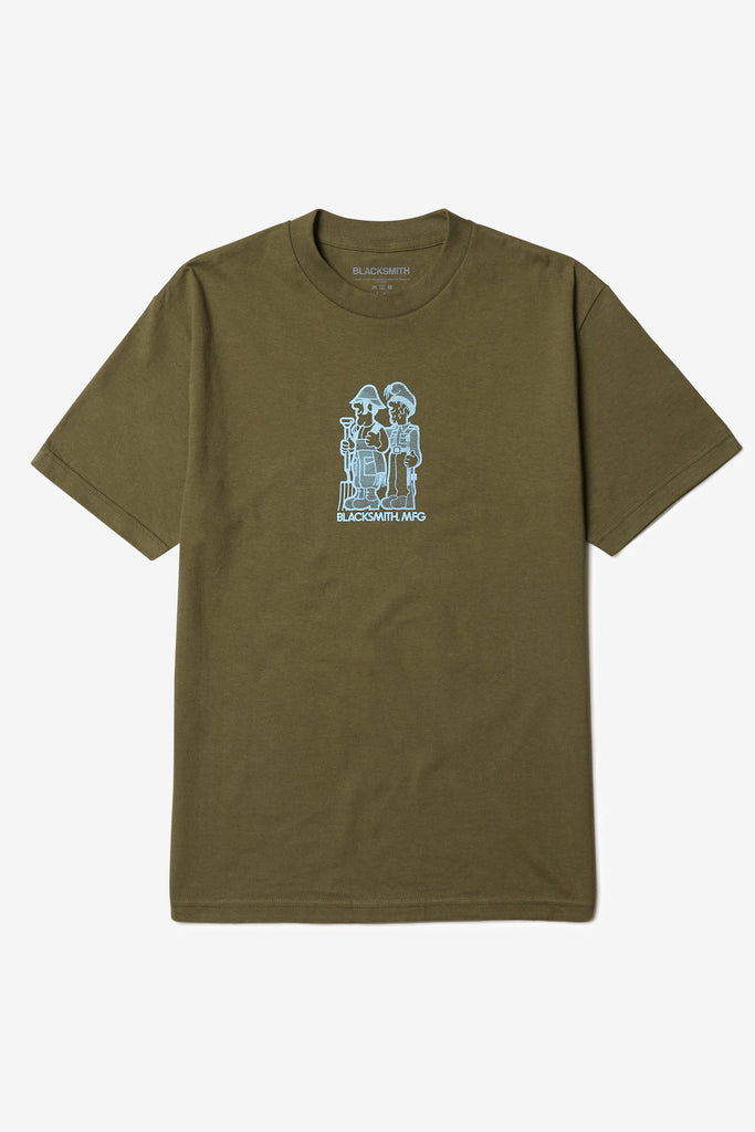 Blacksmith - Pray For Peace, Prep For War Tee - Olive