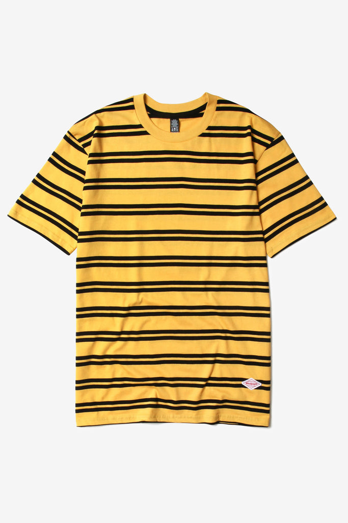 Blacksmith - Border Striped Tee - Yellow