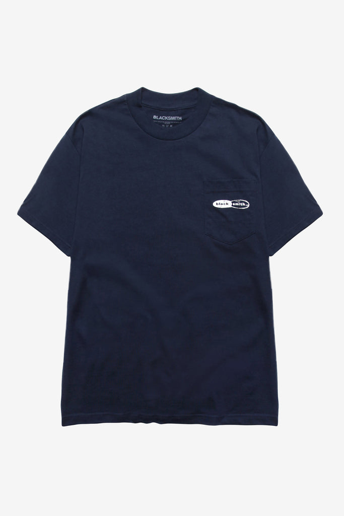 Blacksmith - JC Pocket Tee - Navy