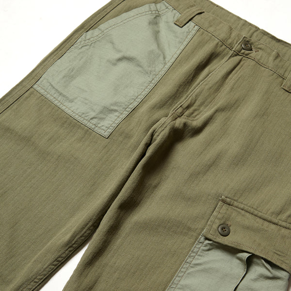 Blacksmith - Tonal Cargo Pants - Olive