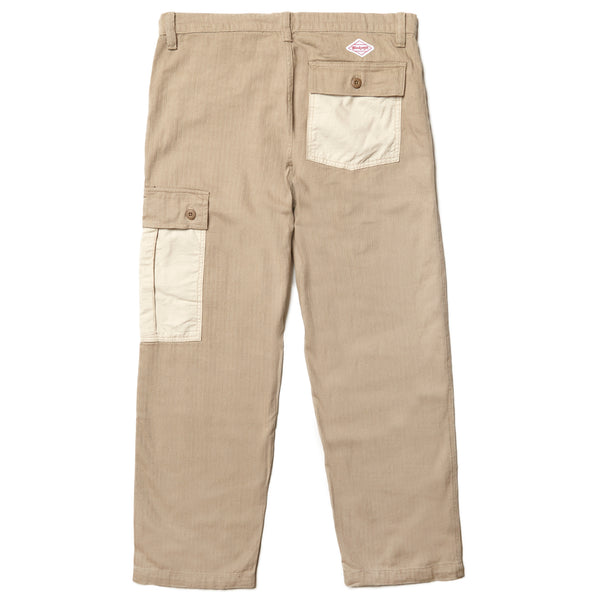 Blacksmith - Tonal Cargo Pants - Stone