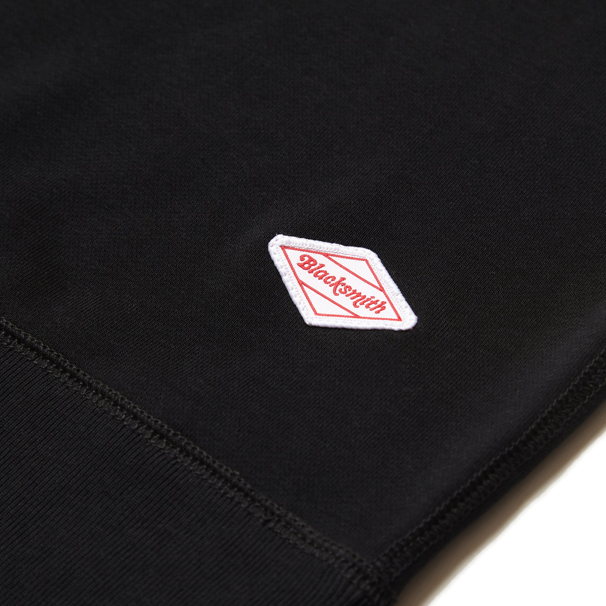Blacksmith - Loopback Everyday Crewneck - Black