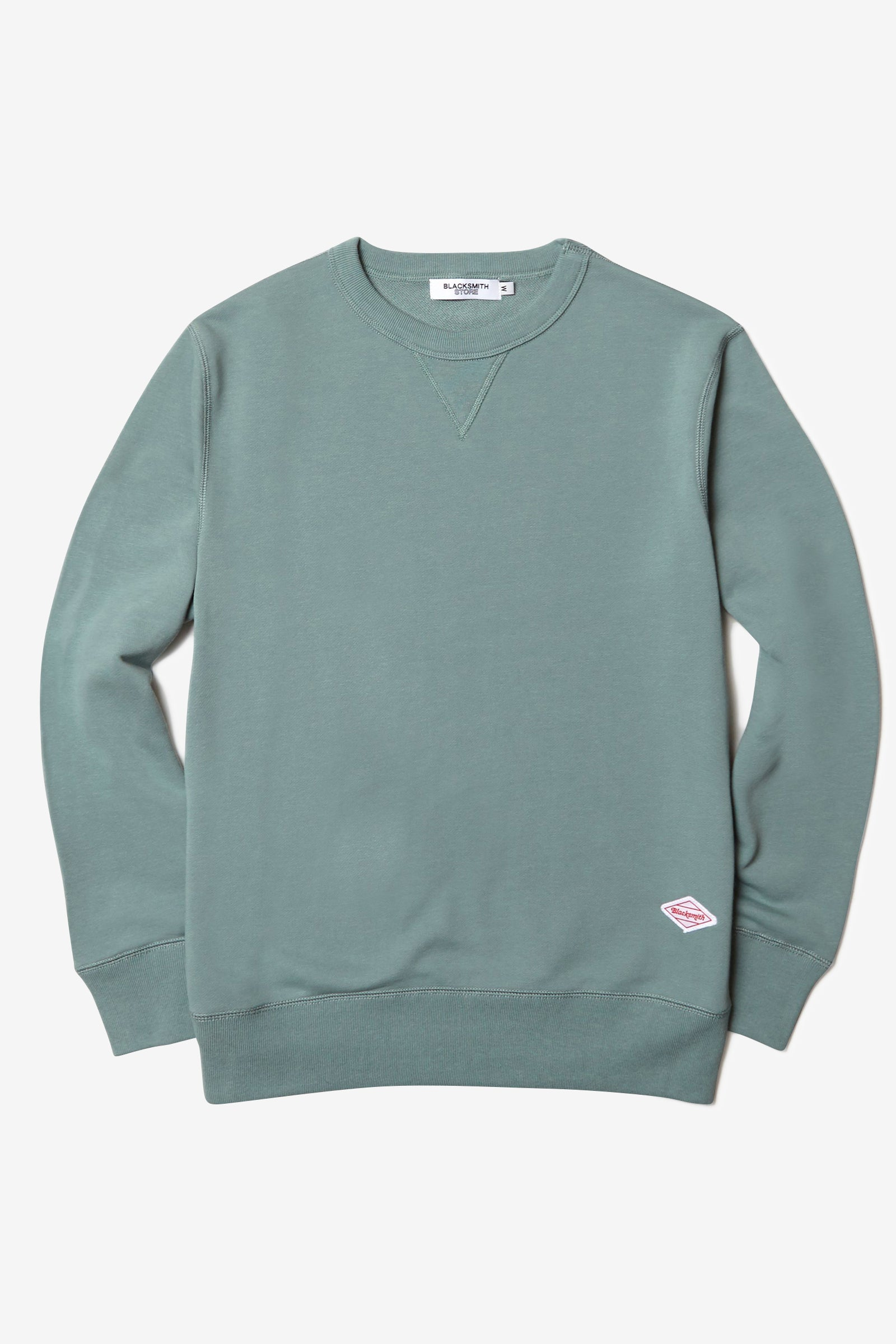 Blacksmith - Loopback Everyday Crewneck - Seafoam
