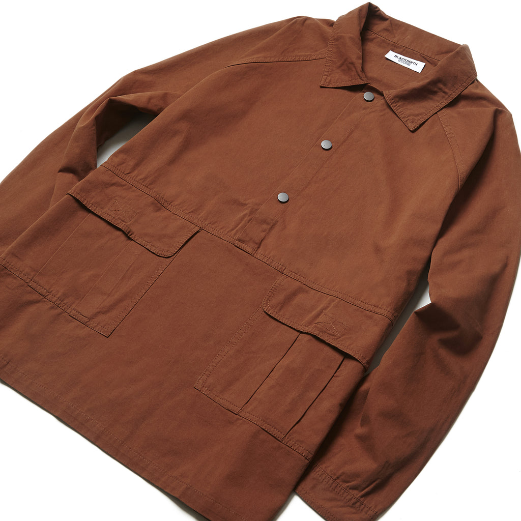 Blacksmith - Popover Labour Shirt - Rust