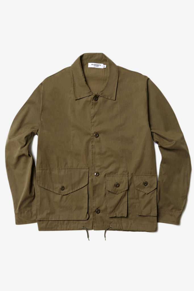 Blacksmith - Service Blouson Jacket - Olive