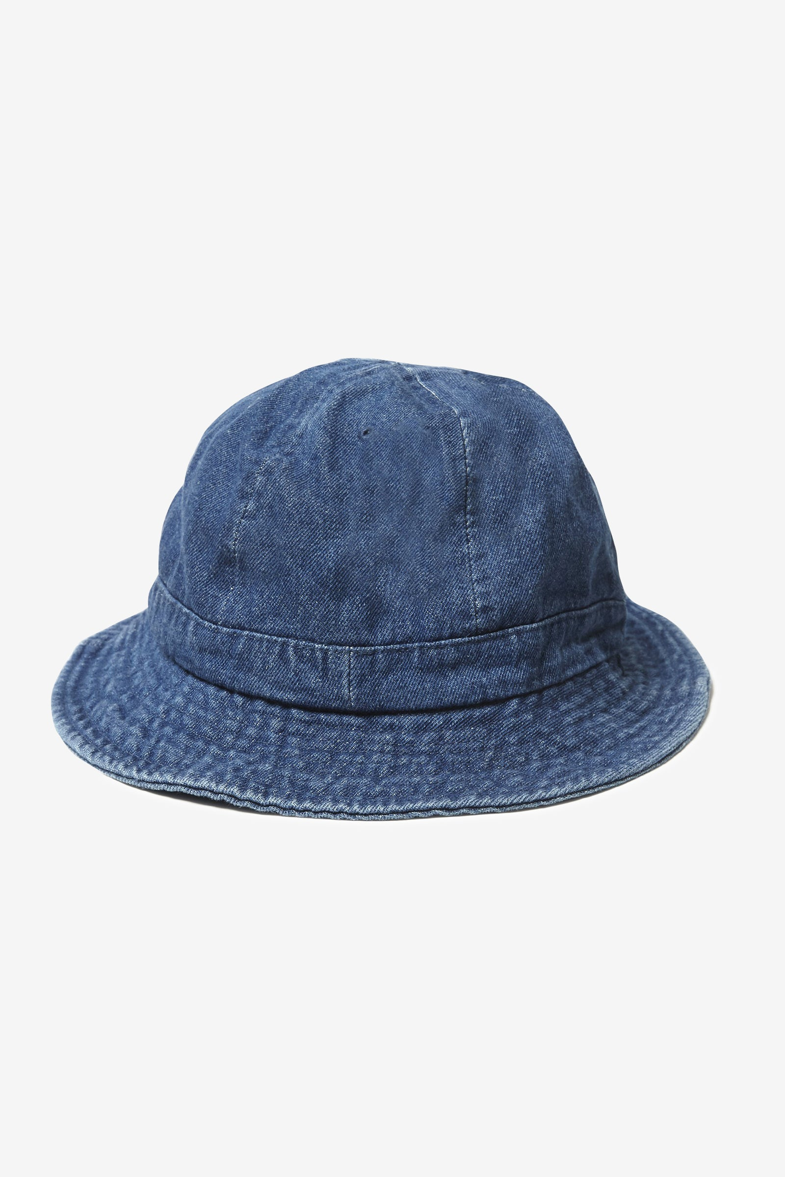 Blacksmith - Denim Bell Bucket Hat - Indigo