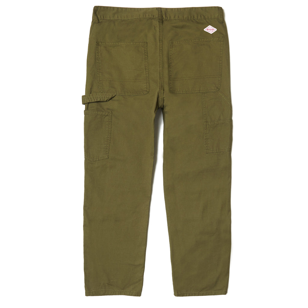 Blacksmith - Double Knee Carpenter Pants - Olive