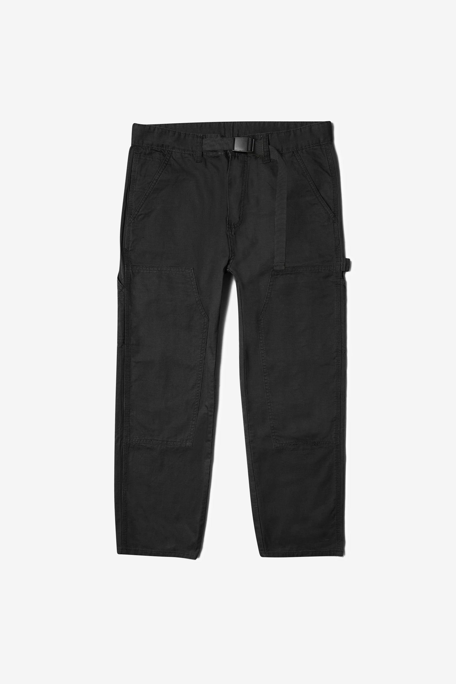 Blacksmith - Double Knee Carpenter Pants - Black