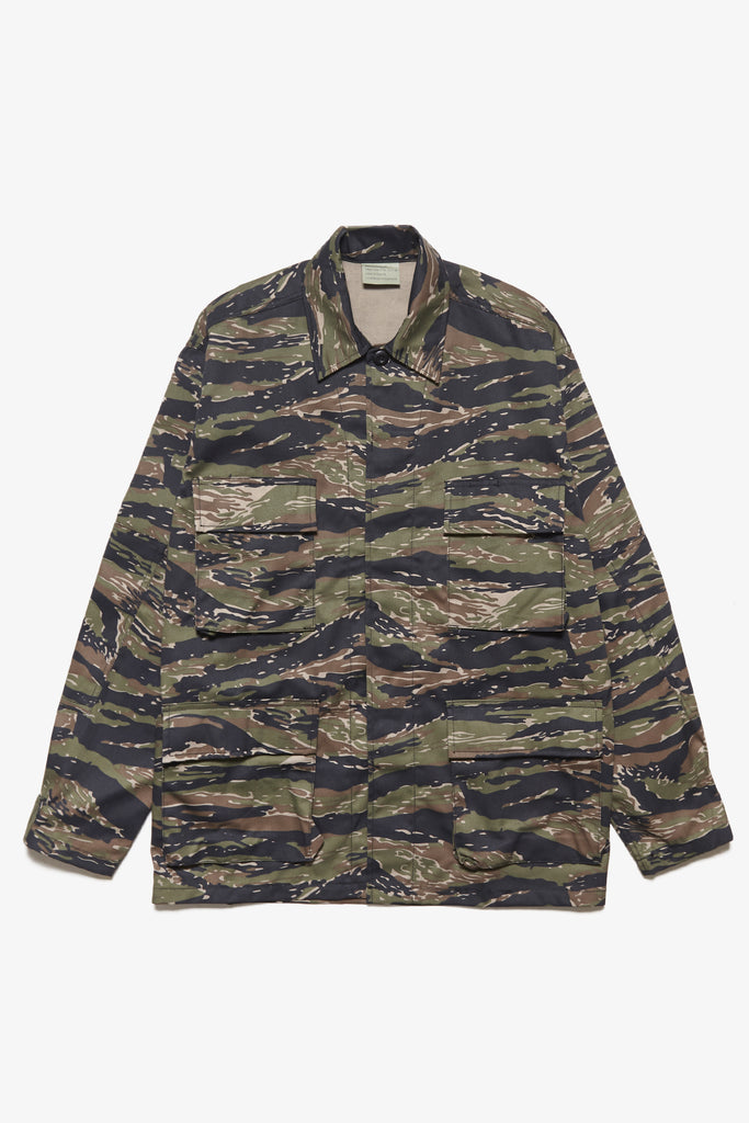 Deadstock - BDU Camo Overshirt - Tiger Stripe