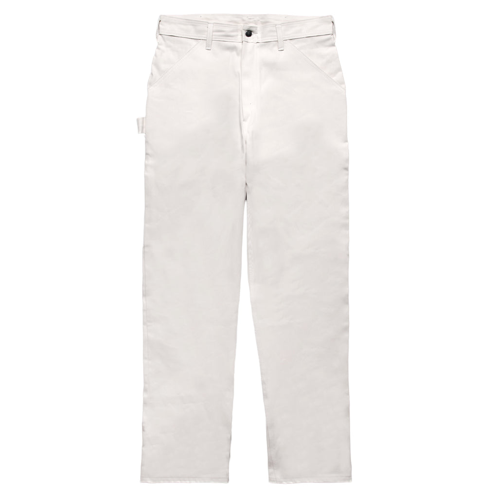 Ace Drop Cloth Tradesman Carpenter Pants - White