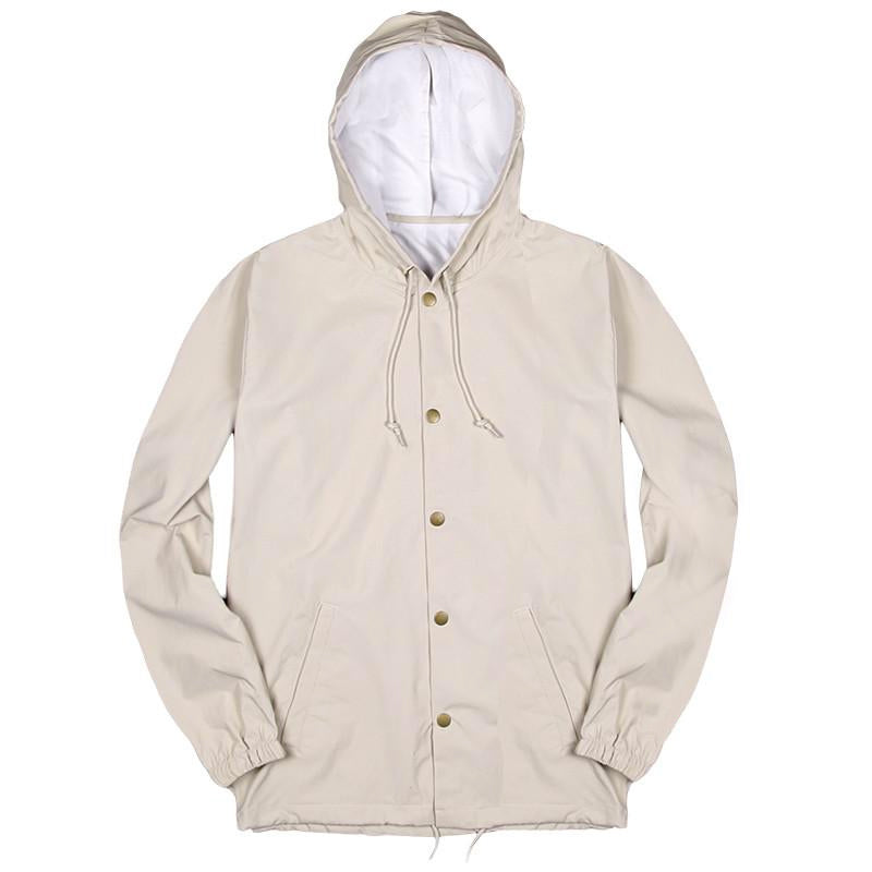 Blacksmith - Helix Hooded Coach Jacket - Khaki