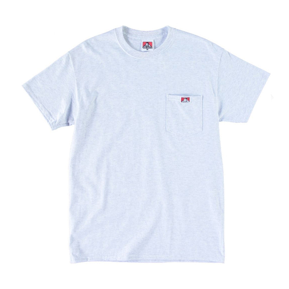Ben Davis - Classic Patch Pocket Tee - Ash