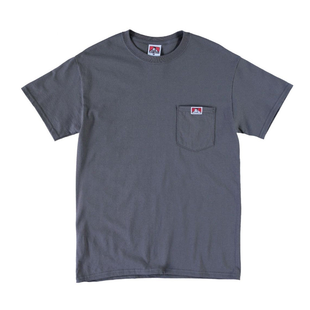 Ben Davis - Classic Patch Pocket Tee - Charcoal