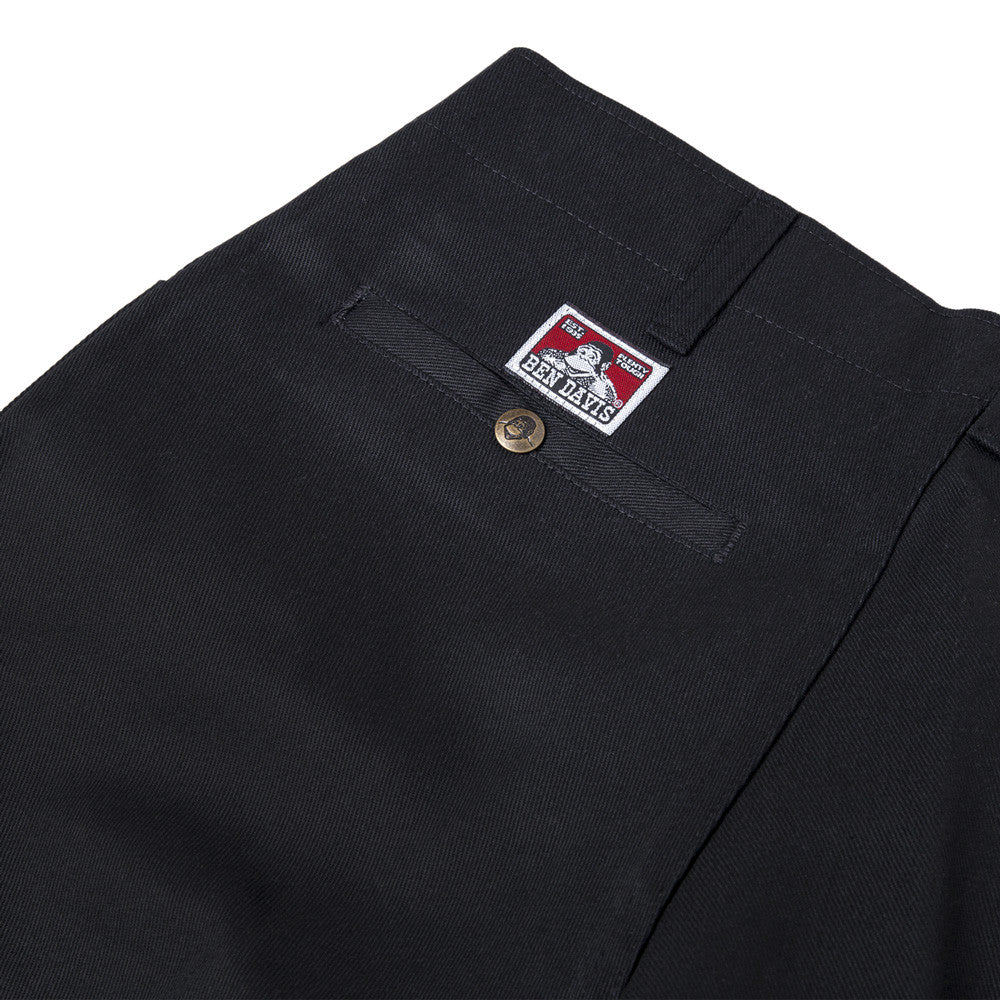 Ben Davis - Trim Fit Work Pant - Black