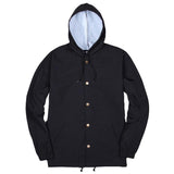 Blacksmith - Helix Hooded Coach Jacket - Black