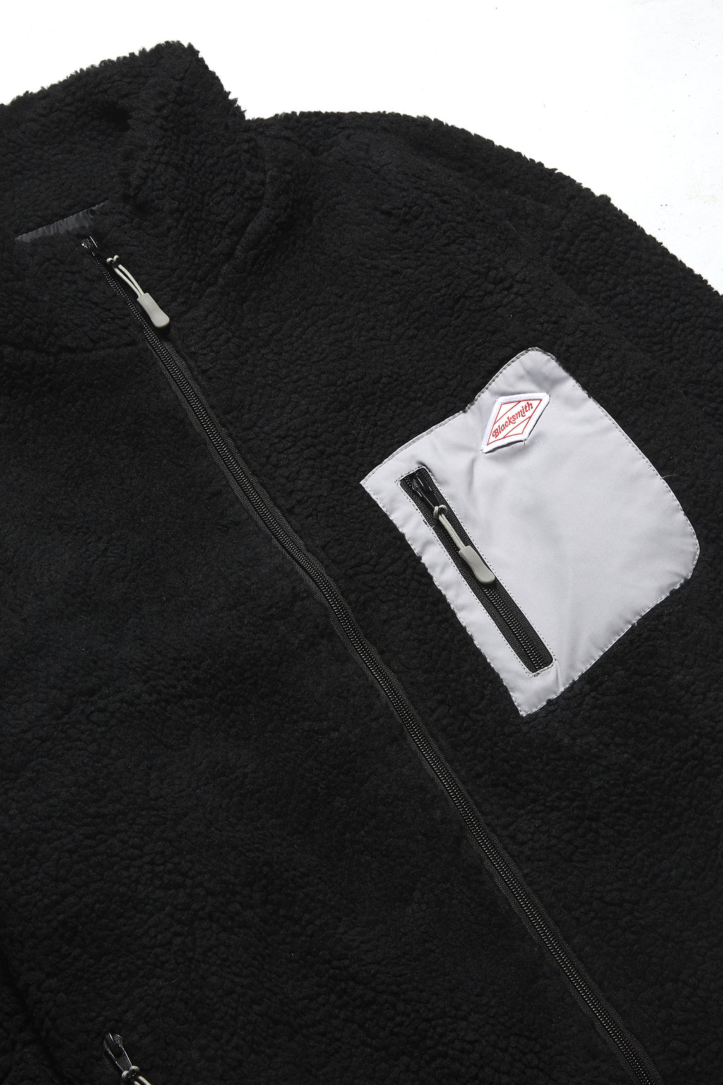 Blacksmith - Trek Pile Zip Fleece - Black