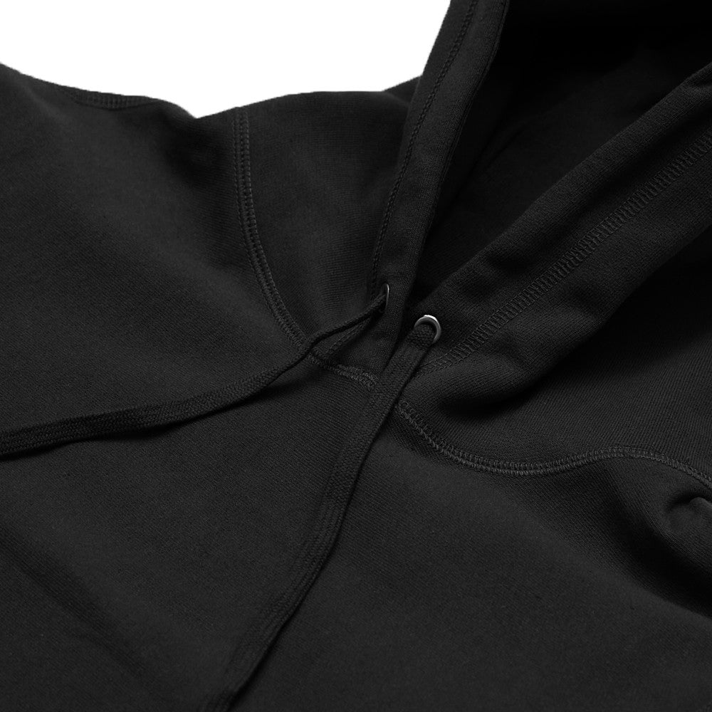 Blacksmith - Cross-Grain Staple Hoodie - Black