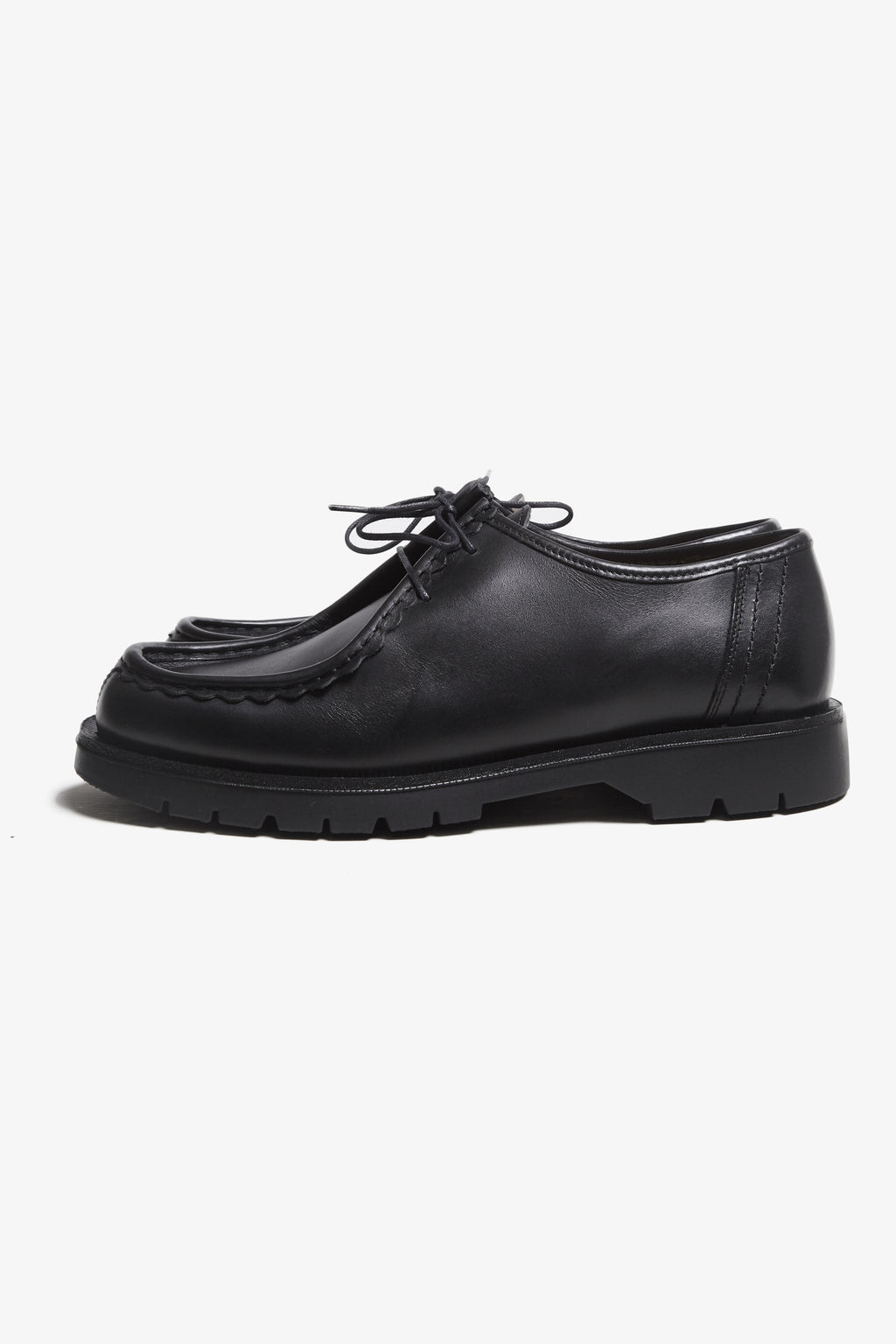Kleman - Padror Moc Toe Shoe - Black