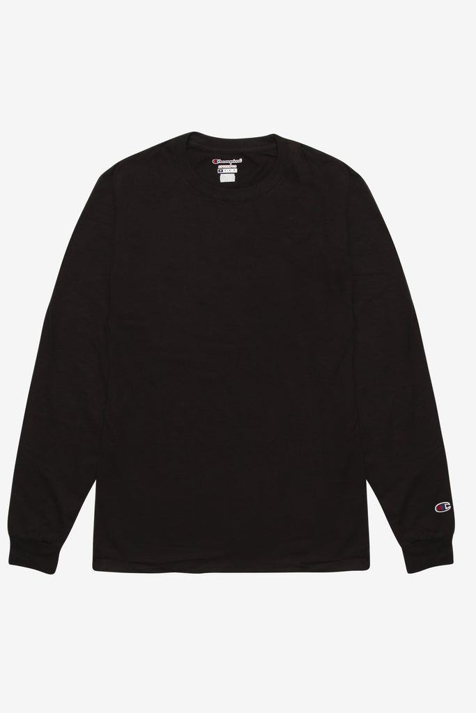 Champion - 6oz Long Sleeve T-Shirt - Black
